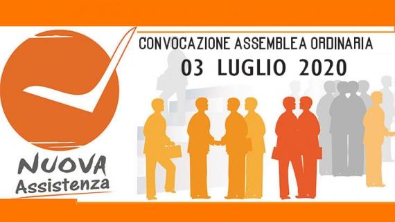 CONVOCAZIONE ASSEMBLEA ORDINARIA 03 LUGLIO 2020