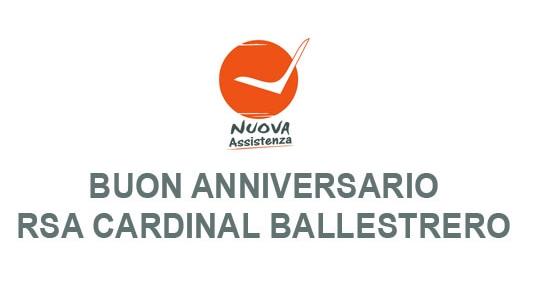 BUON ANNIVERSARIO RSA CARDINAL BALLESTRERO